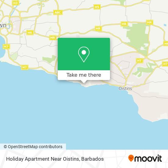 Holiday Apartment Near Oistins map