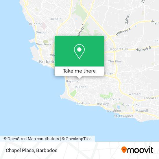 Chapel Place map