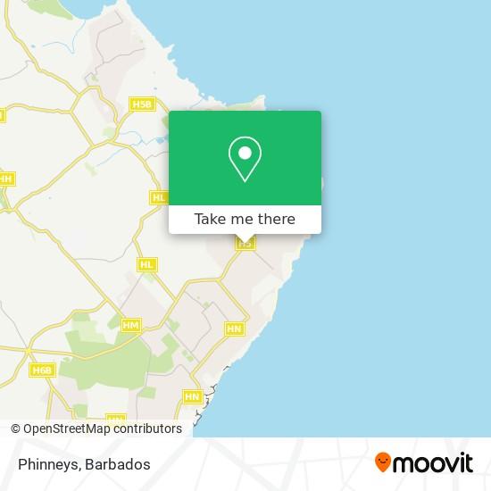 Phinneys map