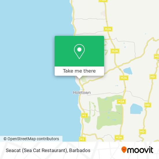 Seacat (Sea Cat Restaurant) map