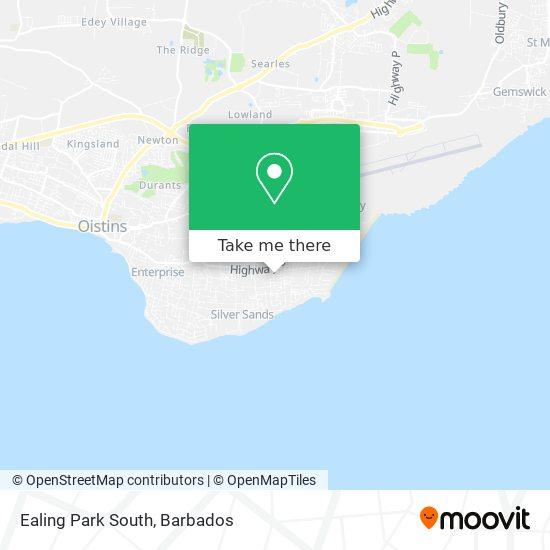 Ealing Park South map