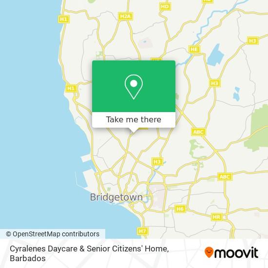 Cyralenes Daycare & Senior Citizens' Home map