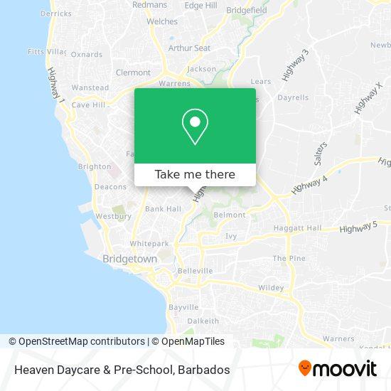 Heaven Daycare & Pre-School map