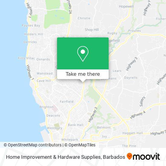Home Improvement & Hardware Supplies map
