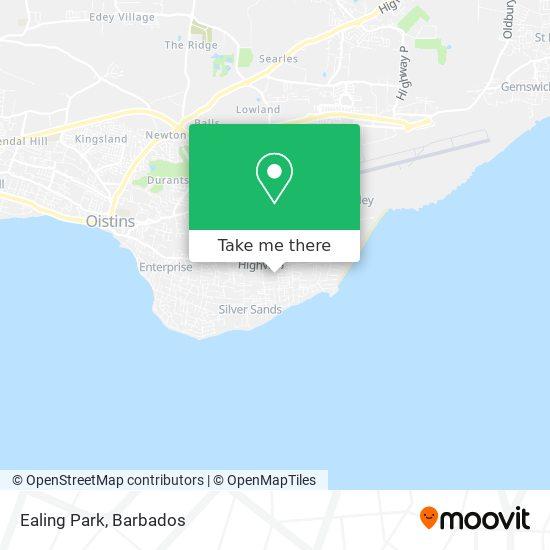 Ealing Park map
