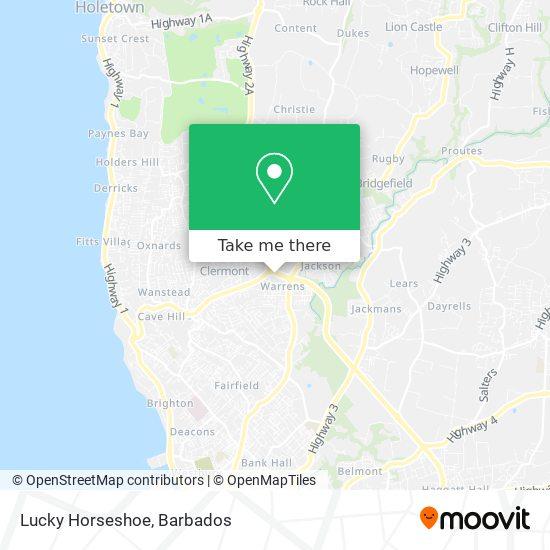 Lucky Horseshoe map