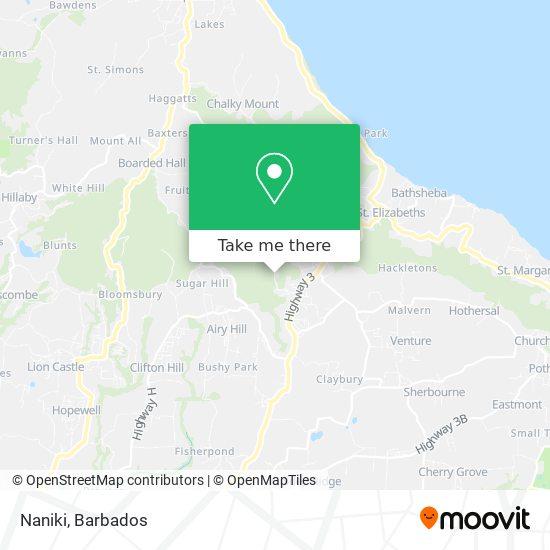 Naniki map