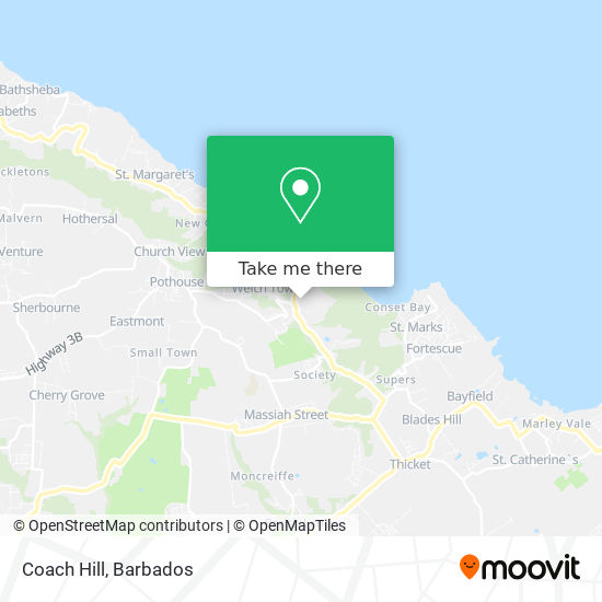 Coach Hill map
