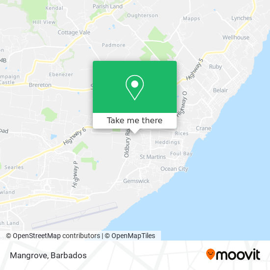 Mangrove map