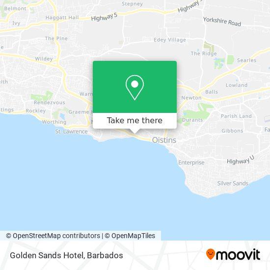 Golden Sands Hotel map