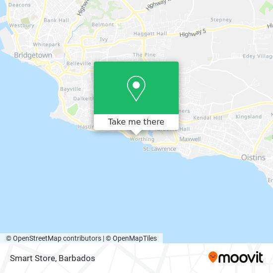 Smart Store map