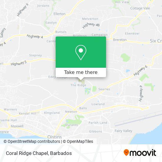 Coral Ridge Chapel map