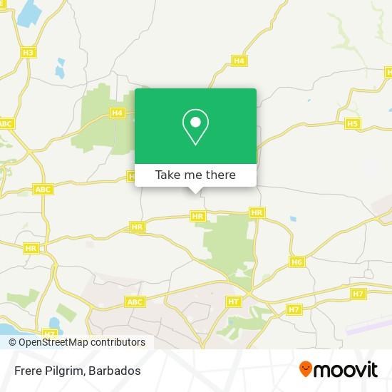 Frere Pilgrim map
