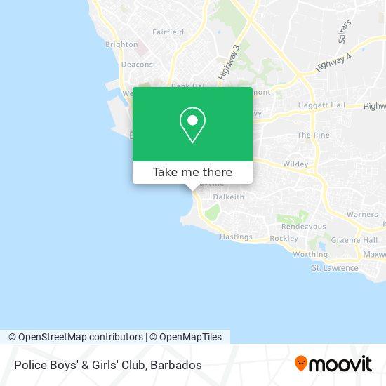 Police Boys' & Girls' Club map