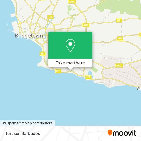 Terasur map