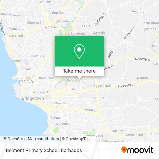 Belmont Primary School map