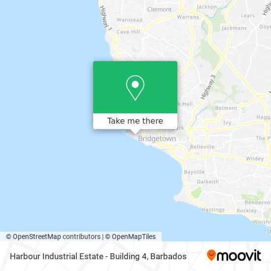 Harbour Industrial Estate - Building 4 map