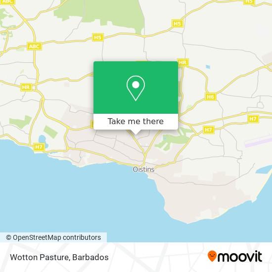 Wotton Pasture map