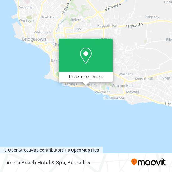 Accra Beach Hotel & Spa map