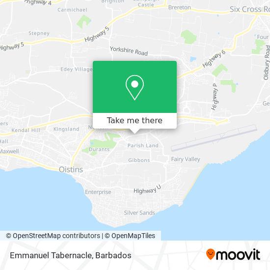 Emmanuel Tabernacle map