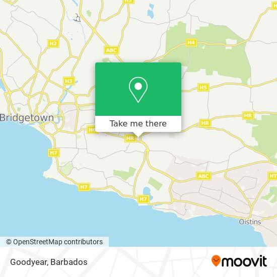 Goodyear map