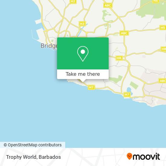 Trophy World map