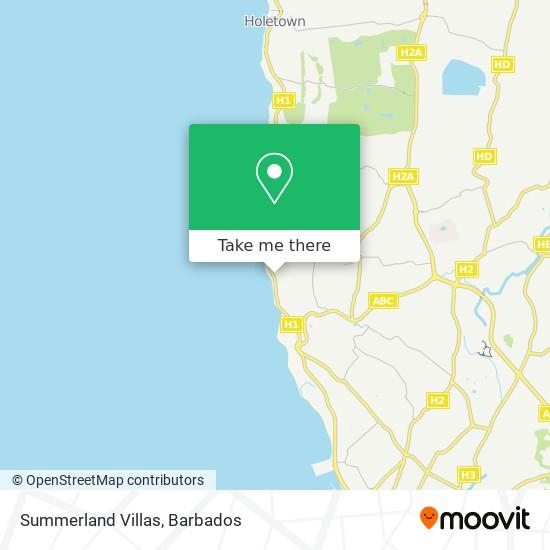 Summerland Villas map
