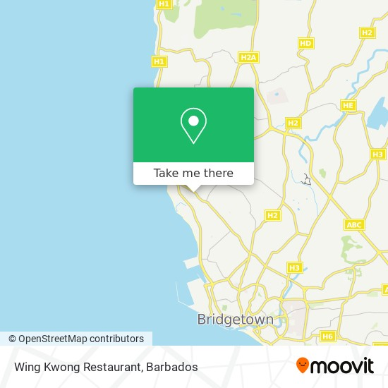 Wing Kwong Restaurant map