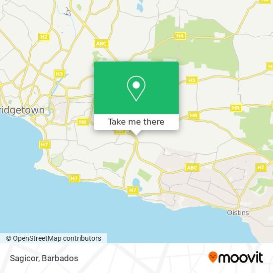 Sagicor map