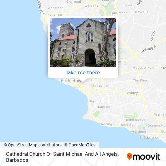 St. Michael's map