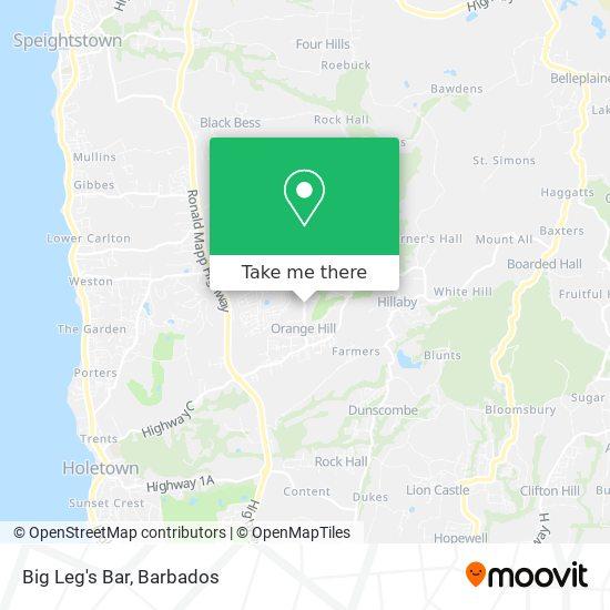 Big Leg's Bar map