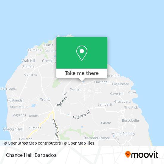 Chance Hall map