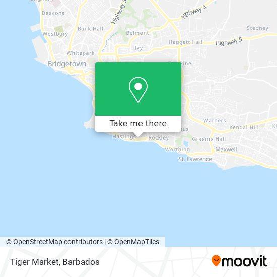 Tiger Market map