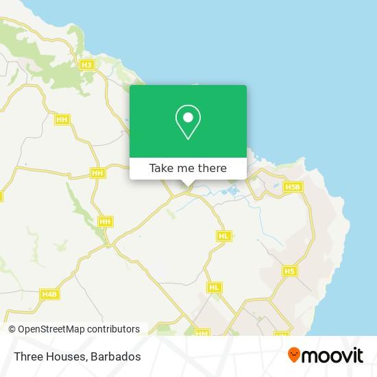 Three Houses map