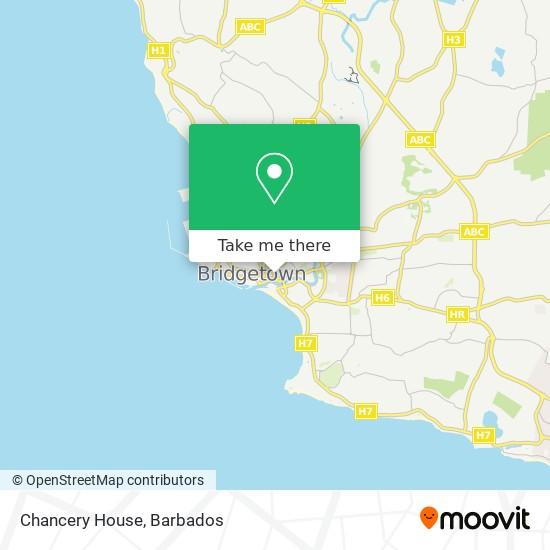 Chancery House map
