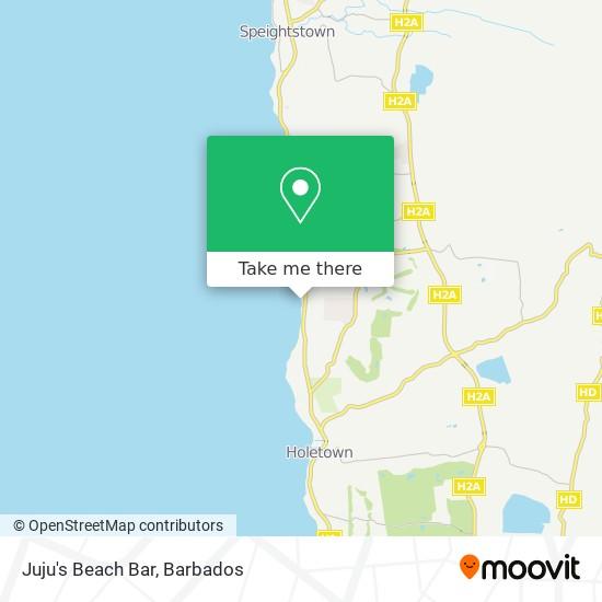 Juju's Beach Bar map