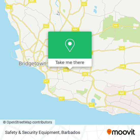 Safety & Security Equipment map