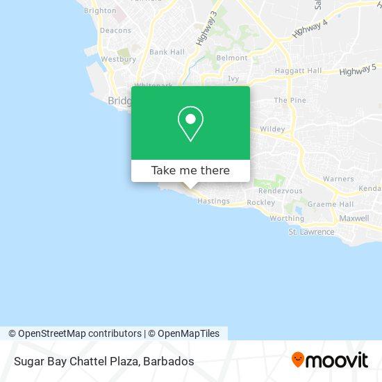 Sugar Bay Chattel Plaza map