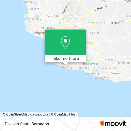 Pavilion Court map