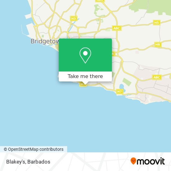 Blakey's map