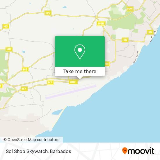 Sol Shop Skywatch map