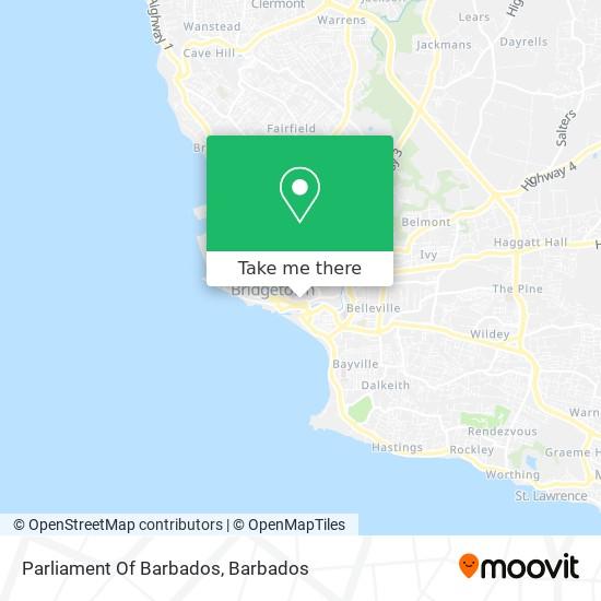 Parliament Of Barbados map