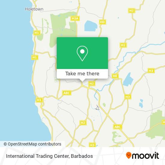 International Trading Center map