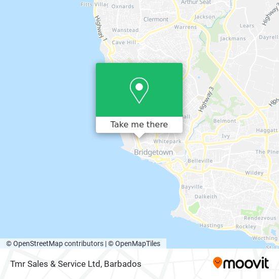 Tmr Sales & Service Ltd map