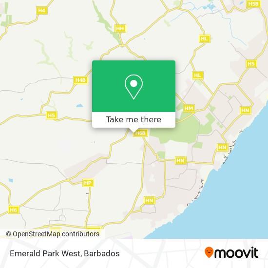 Emerald Park West map