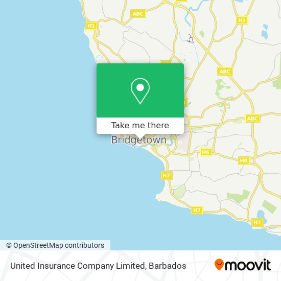United Insurance Company Limited map