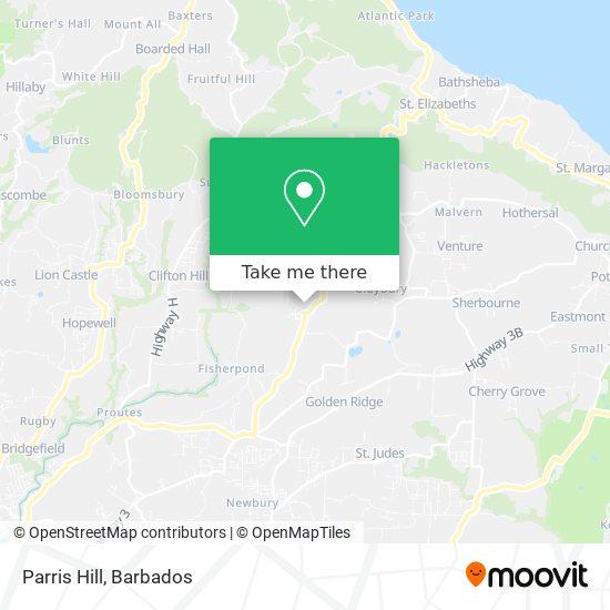 Parris Hill map