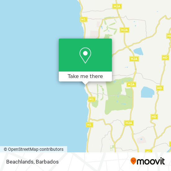 Beachlands map
