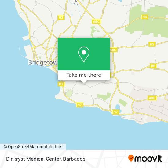 Dinkryst Medical Center map