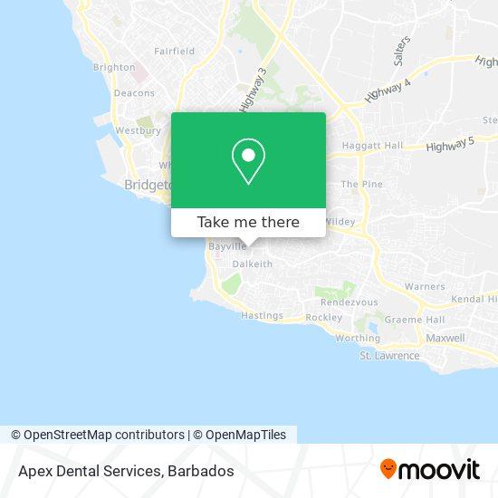 Allo House map